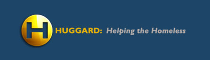 The logo for Huggard, a charity for homeless people in Cardiff.